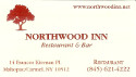 advertisement for http://www.northwoodinn.net